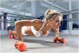 Bent the elbow strength training