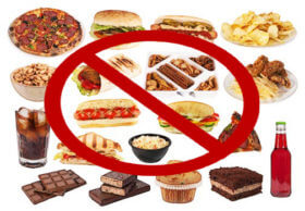 Avoid Simple Carbohydrates