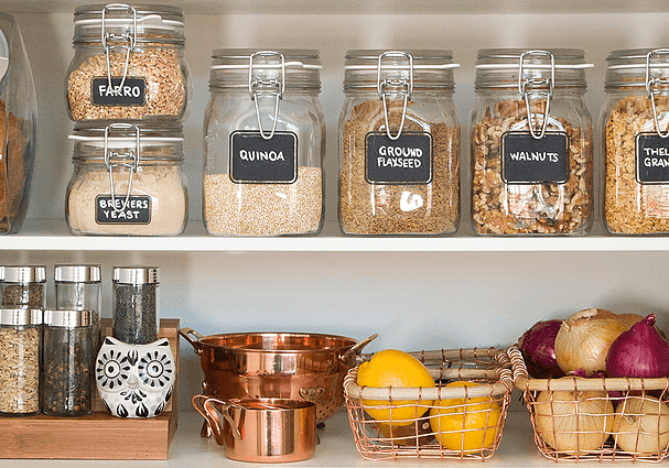 Adjust your pantry with healthier foods