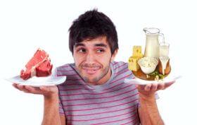 Hormones inciting foods