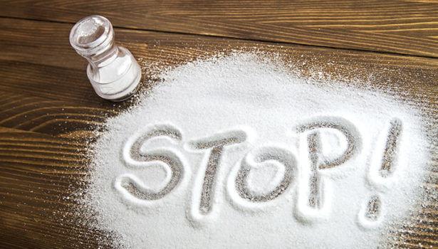 Less Salt Consumption